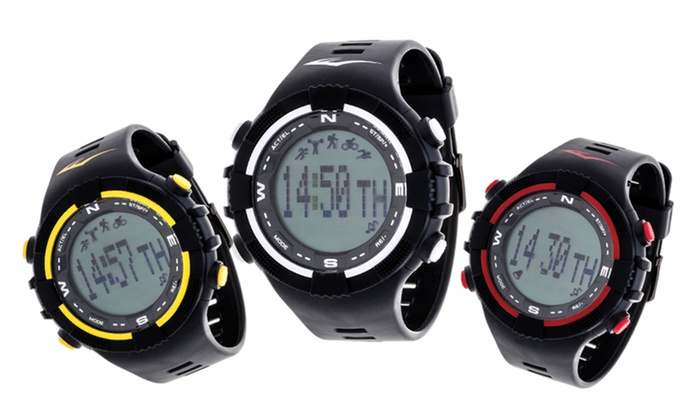 Everlast PD2 Smart Notification Activity Tracker Watch with Pedometer and Sleep Monitor