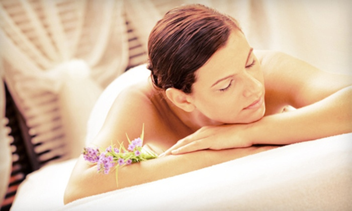 Ritual Salon and Spa - Multiple Locations: 50- or 80-Minute Massage with Optional 50-Minute Facial, or a Couples Massage at Ritual Salon and Spa (Up to 67% Off)