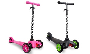 Kids Kick and Go 3-Wheel Scooter