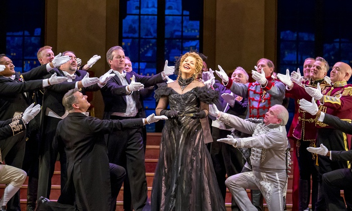 """""""The Merry Widow"""" - Civic Opera House: Lyric Opera of Chicago's """"The Merry Widow"""" on Friday, December 11 at 2 p.m."""