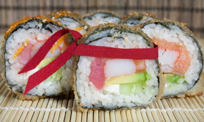 Sus Hi - Quadrangle: Japanese Cuisine at Sus Hi (Half Off). Two Options Available.