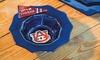 NCAA Glass Dip Bowl with Team Pennant Charm