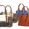 Emilie M Jane Dome Satchel and Essentials Box