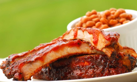$27 for a Family Meal for Four to Six at Bottley's BBQ ($45.76 Value)