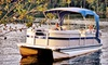 Eisenhower Yacht Club - Light Ranch Estates: Four- or Eight-Hour Weekday or Weekend Pontoon-Boat Rental from Eisenhower Yacht Club in Denison (Up to 55% Off)
