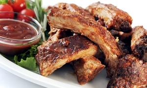 Casa Grande: Spareribs All-you-can-eat inklusive Country-Kartoffeln, BBQ-Sauce und Sour Creme für Zwei oder Vier im Casa Grande