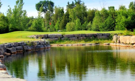 18-Hole Golf Outing for Two or Four at Les Vieux-Moulins Golf Course (Up to 47% Off)
