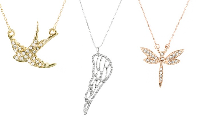 Inspirational pendant necklaces groupon goods jardin jewelry inspirational pendant necklaces aloadofball Choice Image