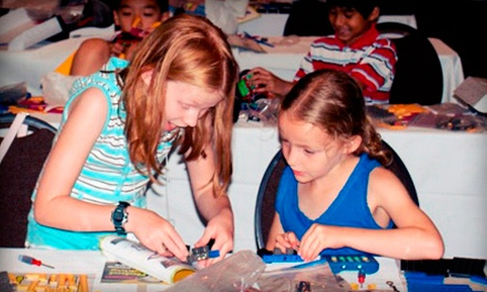 Robots-4-U - Multiple Locations: $149 for a Five-Day Kid's Robotics Summer Camp at Robots-4-U ($399.95 Value)