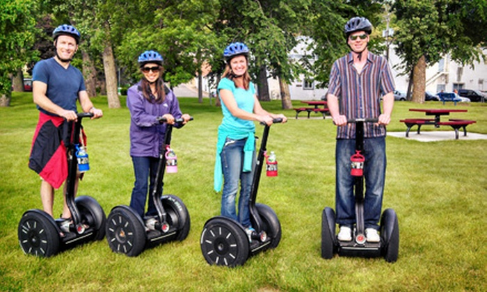 All American Segway - Multiple Locations: Fall Color, Haunted History, or Lake McKusick Segway Tour from All American Segway (50% Off)