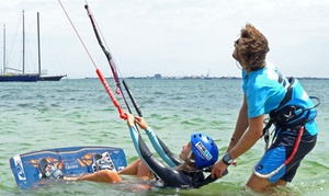 The Zu Boardsports: Two-Hour Kiteboarding Lesson for One ($69) or Two People ($119) with The Zu Boardsports, St Kilda (Up to $238 Value)