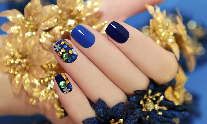 Phresh Lacquer - Daytona Beach International Airport: Full Set of Nails with Nail Art or Prom Package with Nails, Hair, and Makeup at Phresh Lacquer (Up to 50% Off)