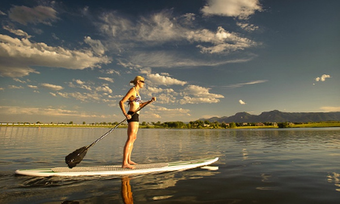 Steiner Ranch SUP - Sleepy Hollow: One-Hour Stand-Up Paddleboard Rental for One or Two-Hour Rental for Two from Steiner Ranch SUP (Up to 61% Off)