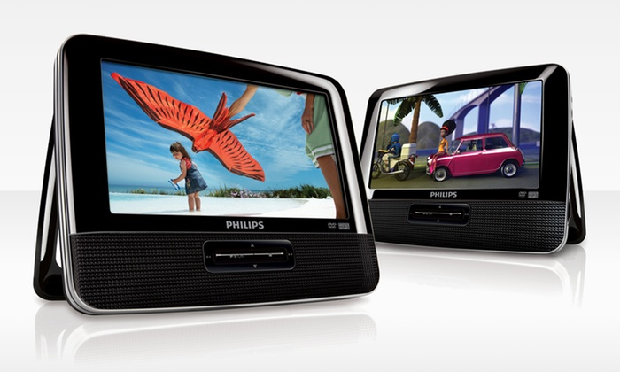 Philips 7 In. Dual-Screen Portable Car DVD Player (PD7012/37): Philips 7 In. Dual-Screen Portable Car DVD Player (PD7012/37). Free Shipping and Returns.