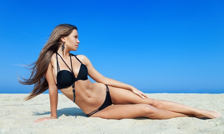 One or Four Spray Tans at 24K Airbrush Tanning Studio (Up to 55% Off)