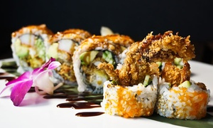 iSushi Japanese Restaurant: $16 for $30 Worth of Sushi and Japanese Dinner for Two or More at iSushi Japanese Restaurant