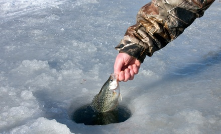 Catch-and-Release or Fillet-and-Freeze Ice-Fishing for 2 from Taft's Tackle & Charter Services (Up to 75% Off)