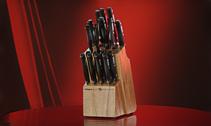 World Class Knives 18-Piece Set: $35 for a World Class Knives 18-Piece Cutlery Set ($139.80 List Price). Free Shipping.