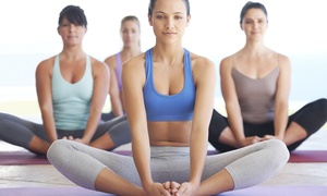 The Happy Yogi: $49 for 10 Yoga Classes at The Happy Yogi ($140 Value)