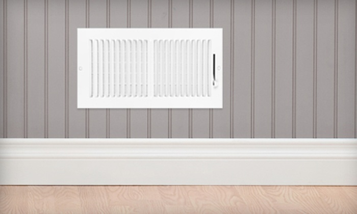 Mrs.Carpet & Mr.Duct - Dallas: $49 for Air-Duct Cleaning for One AC System and Dryer-Vent Inspection from Mrs. Carpet and Mr. Duct ($249 Value)