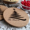 Personalized Christmas Hot Pads (Two-Pack)