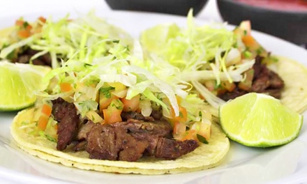 $15 for Three Groupons for Mexican Food at Tamale's Industry ($24 Value)