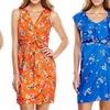 Emma & Michele V-Neck Dresses