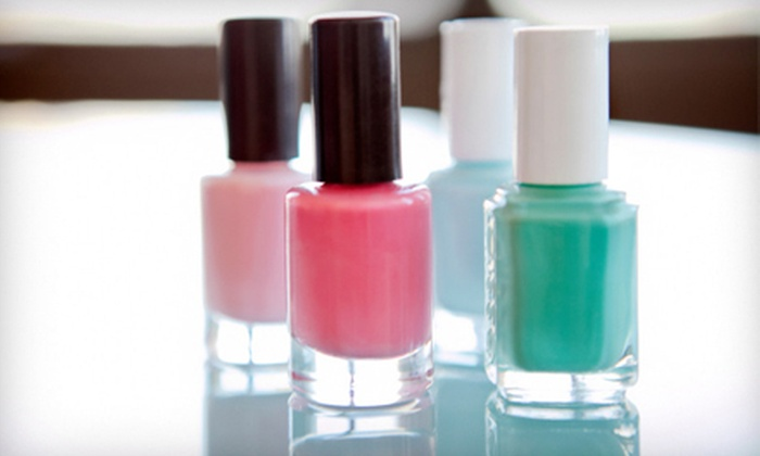 Make Me Over Salon Spa - Port Moody: One or Three Deluxe Manicures and Pedicures at Make Me Over Salon and Spa in Port Moody (Up to 61% Off)