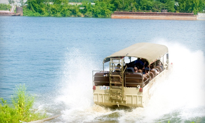 Chattanooga Ducks - Downtown Chattanooga: Amphibious-Vehicle Tour of the Tennessee River for a Child or an Adult from Chattanooga Ducks (Up to 55% Off)