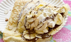 Crepes!: $12 for Four Groupons, Each Good for $5 Worth of Crepes and Coffee at Crepes! ($20 Total Value)