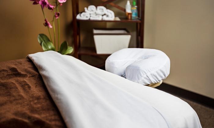 Elements Therapeutic Massage- Woodridge - Woodgrove Festival Plaza: $129 for Three One-Hour Massages at Elements Massage in Woodridge  (Up to $267 Value)