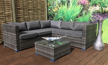 Georgia Outdoor Corner Sofa Set with Optional Cover With Free Delivery
