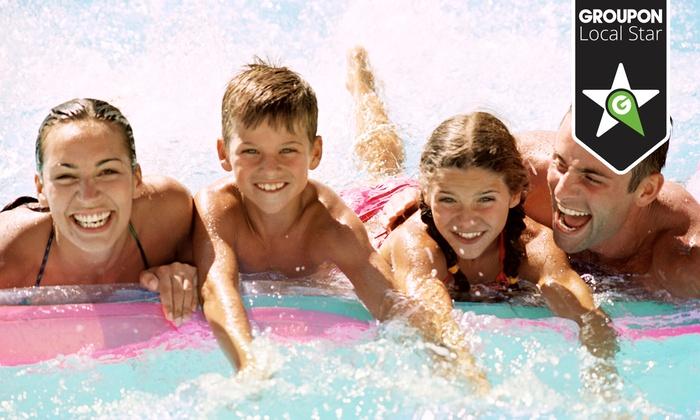 Groupon sp. z o.o. - Park Wodny Sopot: Całodniowe bilety na baseny dla 2 lub 4 osób (od 49,90 zł) i wejście do Świata Sauny (79,90 zł) w Aquaparku w Sopocie