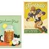 """22""""x29"""" Vintage-Style Posters"""