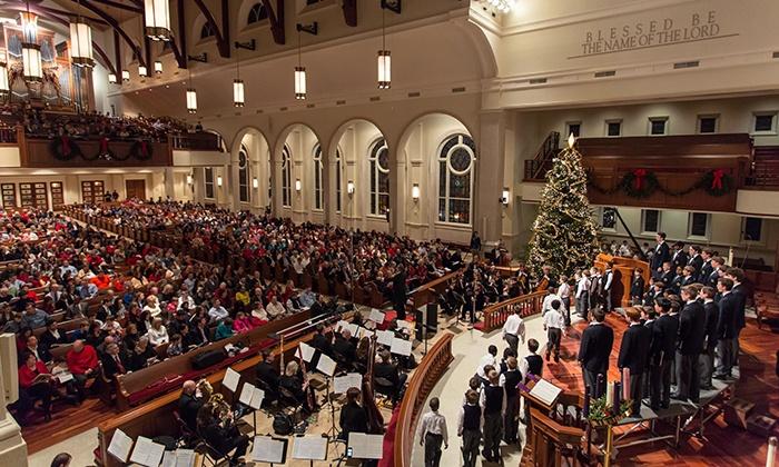 Christmas with the Georgia Boy Choir - Peachtree Road United Methodist Church: Christmas with the Georgia Boy Choir on December 18 or 19 at 7 p.m.