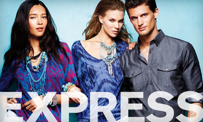 Express - The Peanut: $15 for $30 Worth of Women's and Men's Apparel and Accessories at Express