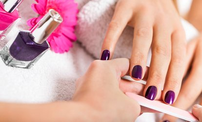 Shellac Manicure or Pedicure (£12.95) or Both (£19.95) at Hair, Nails & Beauty For You (43% Off*)