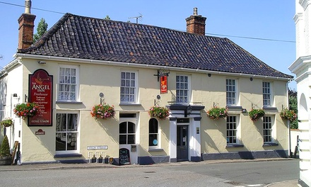 Suffolk: 1 to 3 Nights for Two with Full English Breakfast at The Angel Inn