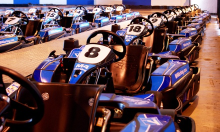 20Minute Adult Karting Experience for One, Two or Four M4 Karting