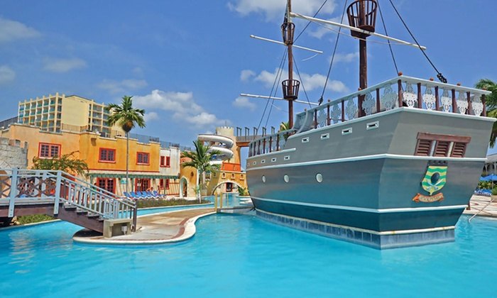 Sunscape splash montego bay stay with airfare from apple for Round the world trips all inclusive