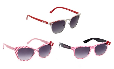 groupon daily deal - Hello Kitty Juniors' Sunglasses. Multiple Styles Available. Free Returns.