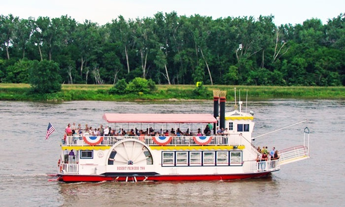 River City Star - Omaha: Riverboat Sightseeing Tour for Two or Four from River City Star (Up to 43% Off)