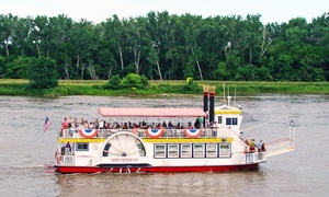 41% Off Omaha Riverboat Sightseeing Tour  at River City Star, plus 6.0% Cash Back from Ebates.