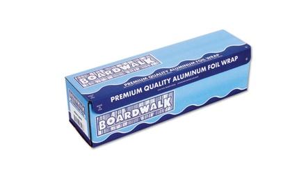 Boardwalk Heavy-Duty Silver Aluminum Foil Roll (18