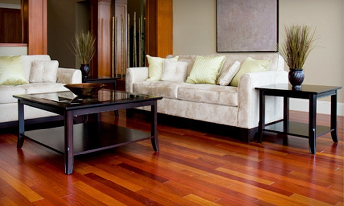 Green Cleaning Technologies - Atlanta: Up to 300, 500, or 700 Square Feet of Hardwood-Floor Refinishing from Green Cleaning Technologies (Half Off)