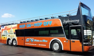 DC Trails: Hop-On, Hop-Off Bus Tour of DC for an Adult or Child from DC Trails (Up to 44% Off)