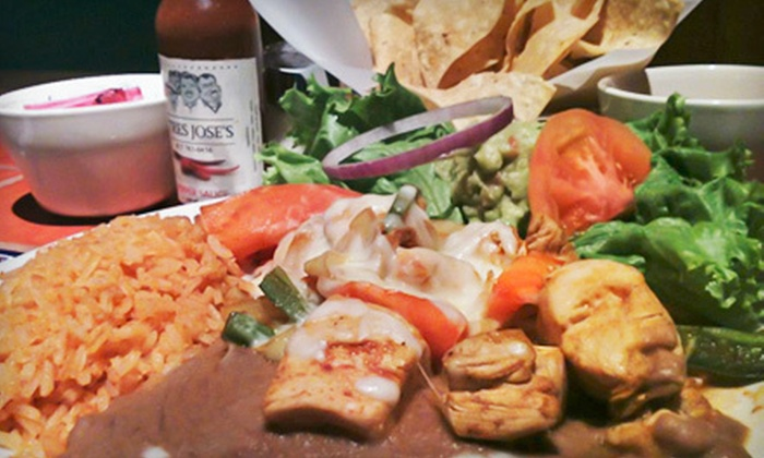 Tres Jose's - Crestwood: $10 for $20 Worth of Tex-Mex Cuisine at Tres Joses