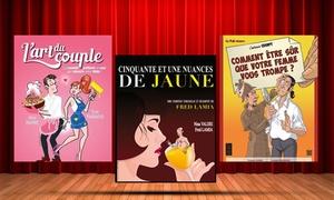 La Comédie de Nancy: 2 places pour une pièce au choix à 18 € à la Comédie de Nancy