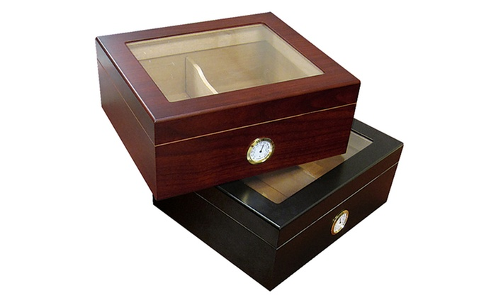 Chalet Glass-Top Cigar Humidors: Chalet Glass-Top Cigar Humidors. Multiple Colors Available. Free Returns.