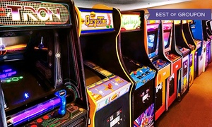 The Arcade: Two or Four All-You-Can-Play Wristbands at The Arcade (Up to 47% Off)
